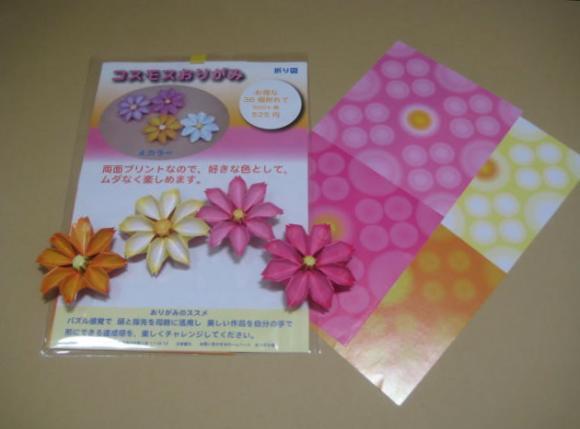 折り紙の 折り紙 コスモス 折り方 : divulgando.net